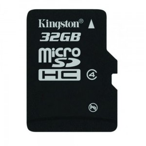 Kingston karta pamięci 32GB microSDHC klasa 4
