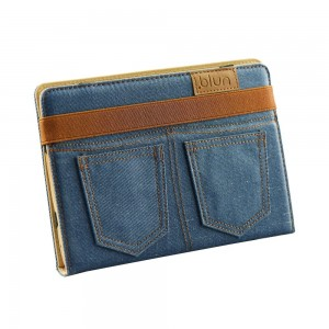 "Etui BLUN do tabletu 8"" JEANS"