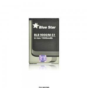 Bateria BlackBerry 9000/9700 Bold/9780 (M-S1) 1500 mAh Li-Ion Blue Star
