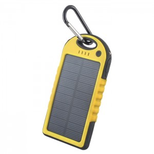 Power Bank solarny Forever 5000 mAh STB-200 żółty