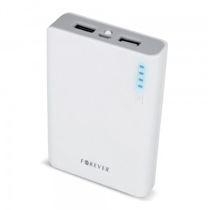 Power bank Forever TB-012 10000 mAh szary