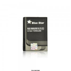 Bateria BlackBerry 9800/9810 (F-S1) 1250 mAh Li-Ion Blue Star