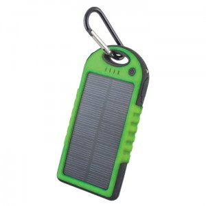 Power Bank solarny Forever 5000 mAh STB-200 zielony