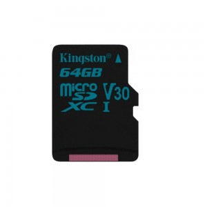 Kingston karta pamięci Canvas Go 64GB microSDXC 90/45 U3 UHS-I V30